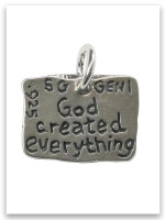 Creation Sterling Silver Charm