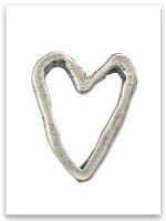 Guard Your Heart Sterling Silver iTAG  Charm