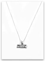 Brave iTAG Sterling Silver Necklace