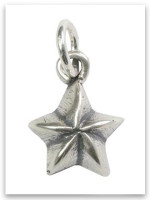 Be A Star Sterling Silver iTAG Charm
