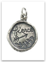 Fierce Sterling Silver iTAG Charm