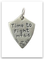 Warrior Sterling Silver iTAG Charm