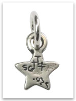 Be a Star Sterling Silver Charm