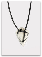 Shield of Faith Necklace Back