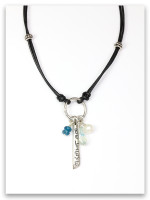 Believe Leather Necklace