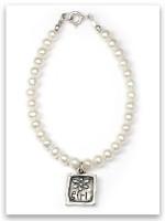 Flower Girl pearl bracelet