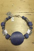 Jerusalem Lapis Bracelet
