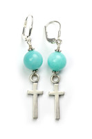 Matching Amazonite Earrings (SOLD Separately)