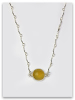 Jasper/Yellow-Benjamin Twelve Tribes Necklace