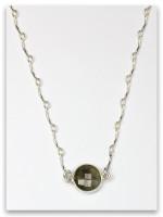 Laborite/Agate-Naphtali Twelve Tribes Necklace