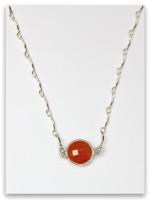 Carnelian-Dan Twelve Tribes Necklace