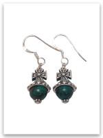 Favor Eilat Stone Royal Scepter Cross Earrings (SOLD Separately)