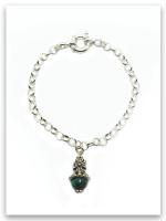 Favor Eilat Stone Royal Scepter Cross Bracelet (SOLD Separately)