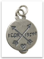 Journey of Light Sterling Silver Charm