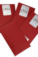 Signature Red iTAG Envelope w/Message Card included