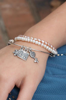 Child's Slider/Adjustable Charm Bracelet