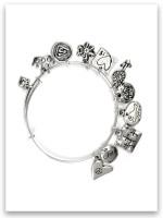 Child Sterling Silver Slider Bracelet