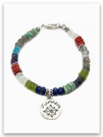 Journey Colorful Stone Bracelet