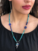 Valuable-Believe Hues of Blue Necklace