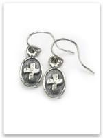Kindness Cross Earrings