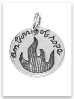 Embers of Hope iTAG Sterling Silver Charm