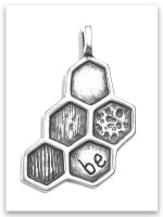 Just Be Sterling SIlver Pendant