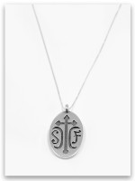 Sister Friends Sterling Pendant Necklace