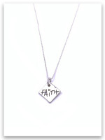 Faith Sterling Silver Necklace