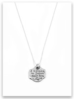 Born Again iTAG Sterling Silver Necklace