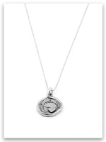 Everlasting iTAG Sterling Silver Necklace