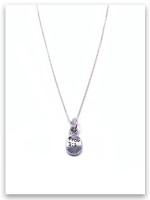 Kindness iTAG Sterling Silver Necklace