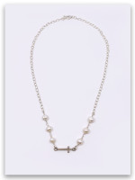 East West Pearl Necklace