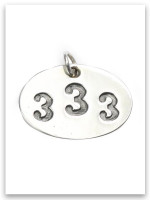 333 Sterling Silver Pendant