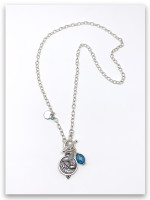 Angel Messenger Rolo Chain Necklace