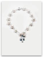 Bold Faith Pearl Bracelet