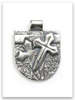 Sterling Silver Armor of God Pendant