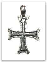 Bethesda Cross Sterling Silver Pendant
