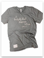 Beautifully Blessed Forgiven Hot Mess T-shrit