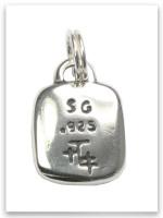 Sterling Silver Chosen Hand Adoption Charm