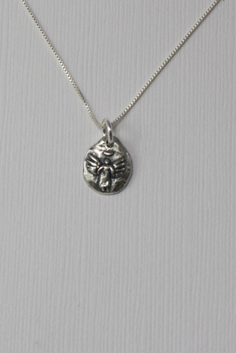Angel Sterling Grace Necklace Sterling Silver Christian Jewelry