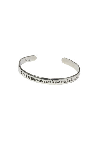 A Cord of Three Cuff Bracelet