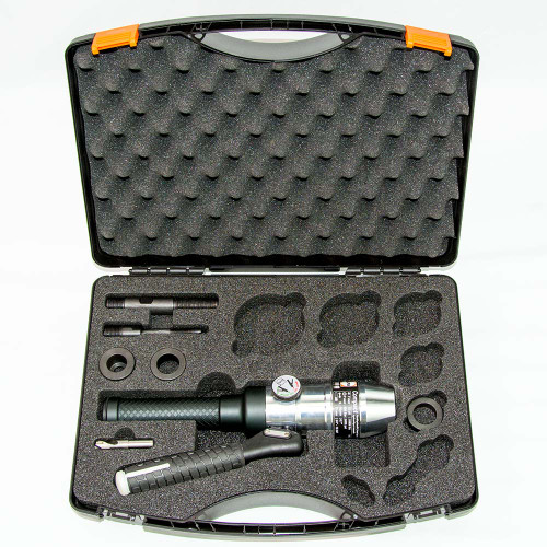 ALFRA 02001 Compact Hydraulic Punch Kit w/Draw Bolts, Pre-Drill, Bushings