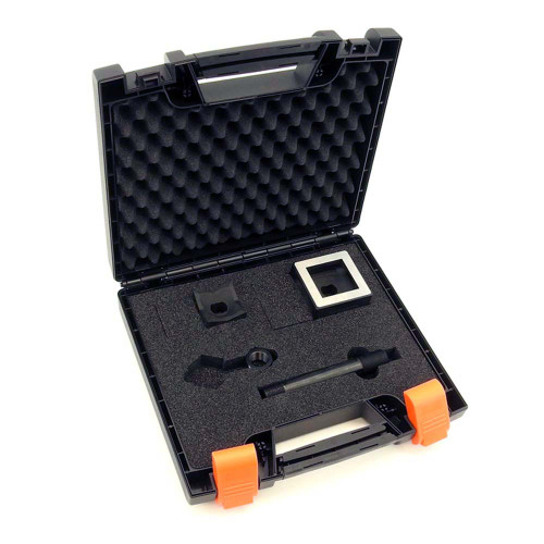 """ALFRA FormCut 01313 Square Punch and Die Set, 1-25/32"""" x 1-25/32"""", 1/16 DIN"""