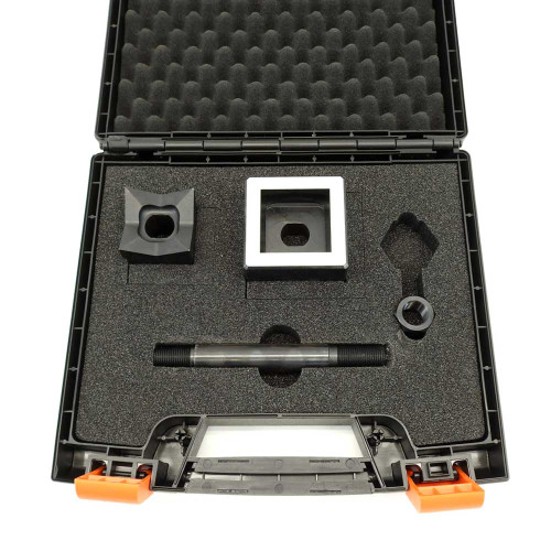 """ALFRA FormCut 01306 Square Punch and Die Set, 2"""" x 2"""""""