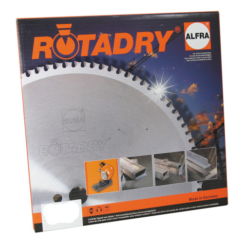 "ALFRA 32101 RotaDry 12"" DIA Circular Saw Blade for Steel Application"