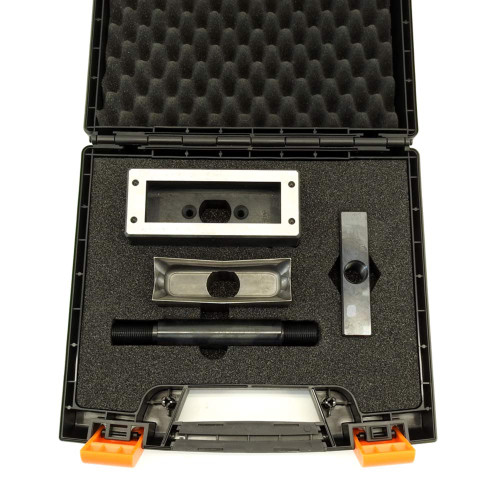 "ALFRA 013281 FormCut+™ Rectangular Series HD Punch and Die Set, 1-7/16"" x 4-7/16"""