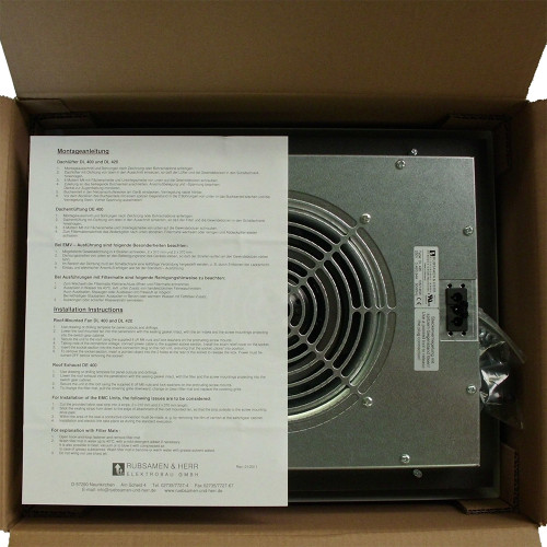 DL 420 Roof Mounted Exhaust Fan, 115V, 50/60Hz, IP 54, with P15/350S Filter Mat (5042025X)