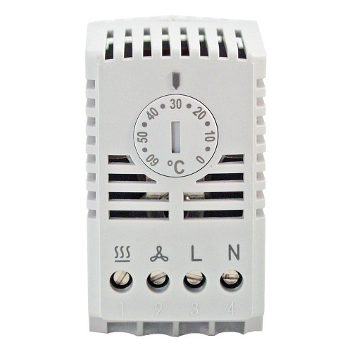 TWR 60 Thermostat Controller, 0 - 60 °C Range, Changeover Contact, with Thermal Feedback (15TWR060)