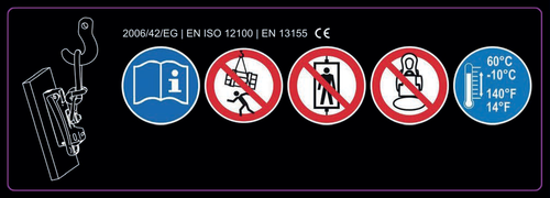 Alfra 189414178 Safety Instructions for TML-1100/TML-500 (PN 41500) Lifting Magnets