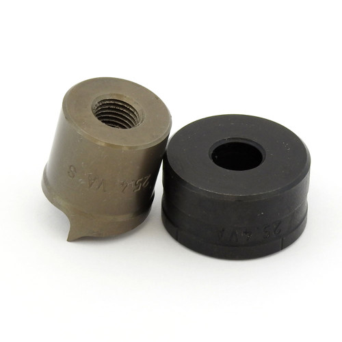 """ALFRA 01528 TwinCut Round Punch and Die Set 1"""" DIA"""